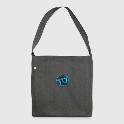 TB-SWEATER - Schultertasche aus Recycling-Material