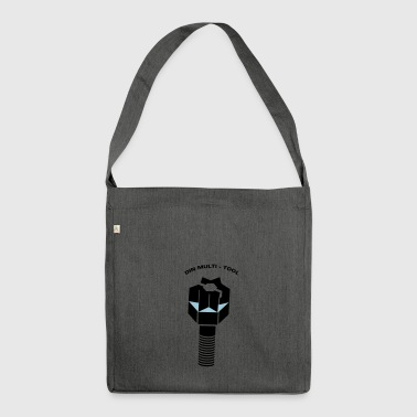 DIN MULTI TOOL - Schultertasche aus Recycling-Material