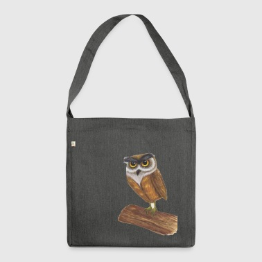 owls - Shoulder Bag made from recycled material