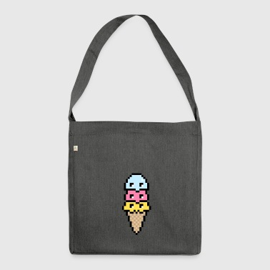Kawaii Icecream - Shoulder Bag made from recycled material