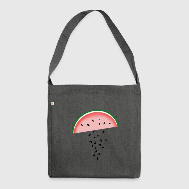 Melone - Schultertasche aus Recycling-Material