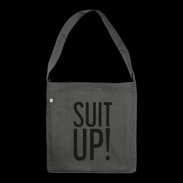Suit Up! suit - Shoulder Bag made from recycled material