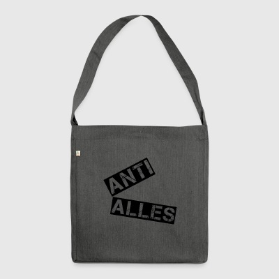 Anti Alles - Schultertasche aus Recycling-Material