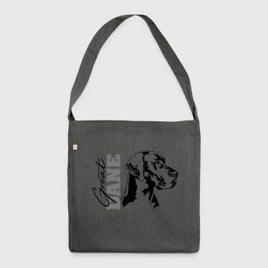 GREAT DANE Portrait Wilsigns - Shoulder Bag made from recycled material