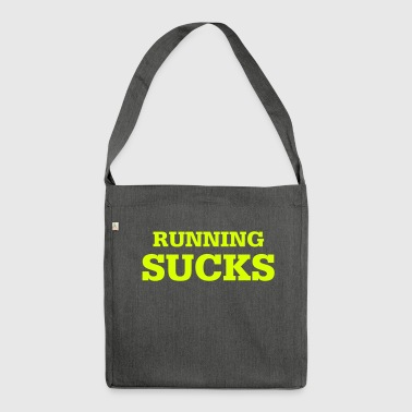 running Sucks - Schoudertas van gerecycled materiaal
