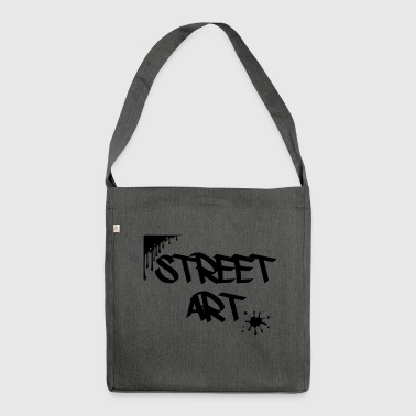 street art - Shoulder Bag made from recycled material