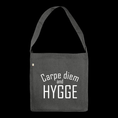 Hygge Carpe diem - Borsa in materiale riciclato