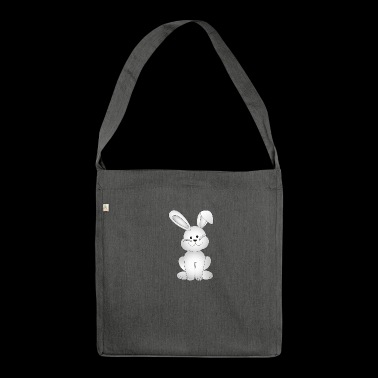 easter bunny - Schultertasche aus Recycling-Material