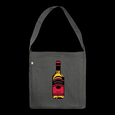 Whisky-Flasche - Schultertasche aus Recycling-Material