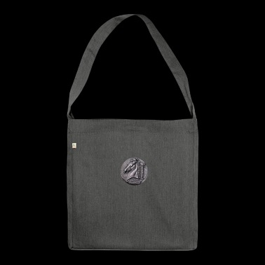 Roman coin - Shoulder Bag made from recycled material