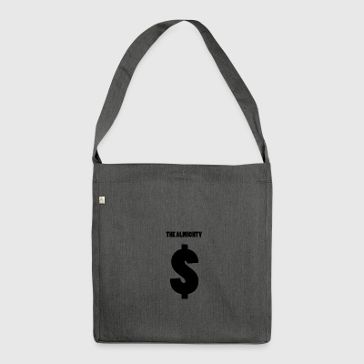 The Almighty - Schultertasche aus Recycling-Material