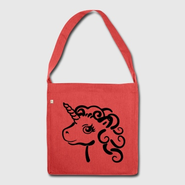 unicorno - Borsa in materiale riciclato