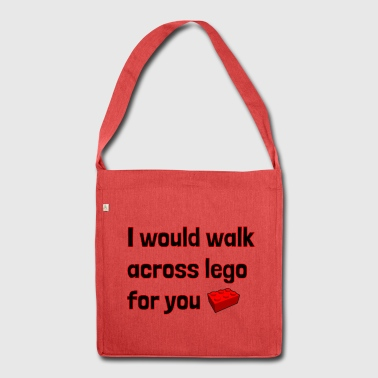 Walk Across For You - Shoulder Bag made from recycled material