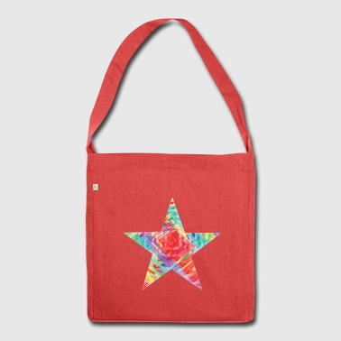 Color star of david - Shoulder Bag made from recycled material