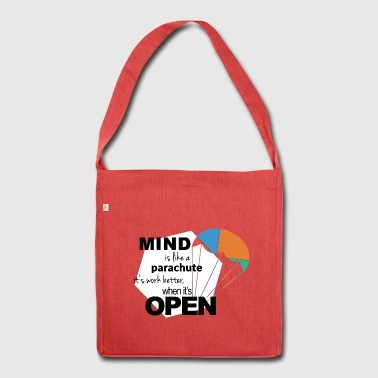 Mind Parachute - Shoulder Bag made from recycled material