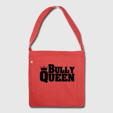 BULLY QUEEN bulldog - Shoulder Bag made from recycled material