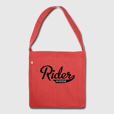 2541614 15935879 rider - Shoulder Bag made from recycled material
