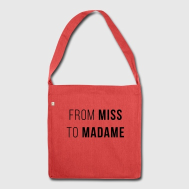 from miss to madame evjf - Shoulder Bag made from recycled material