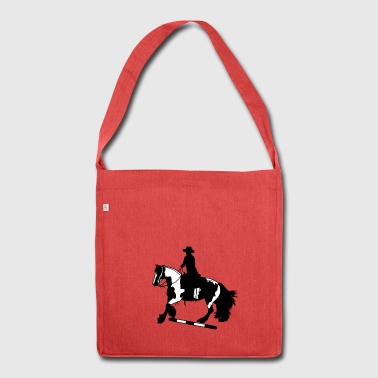 Tinker gallop I pole - Shoulder Bag made from recycled material