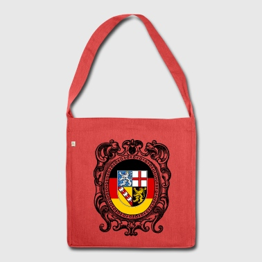 Saarland coat of arms - Shoulder Bag made from recycled material