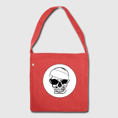 Totnkopf Skull 2c - Shoulder Bag made from recycled material
