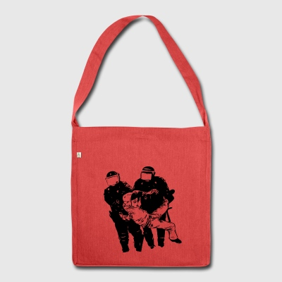 ACAB - Schultertasche aus Recycling-Material