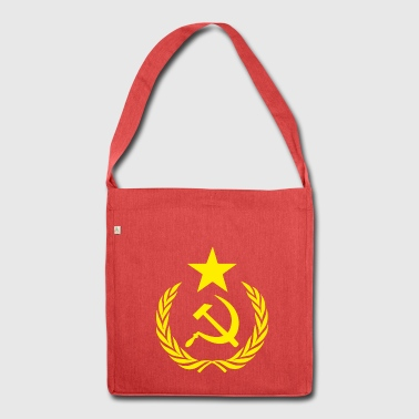 Flag Communists and Symbols - Shoulder Bag made from recycled material