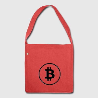 Bitcoin 17 - Shoulder Bag made from recycled material