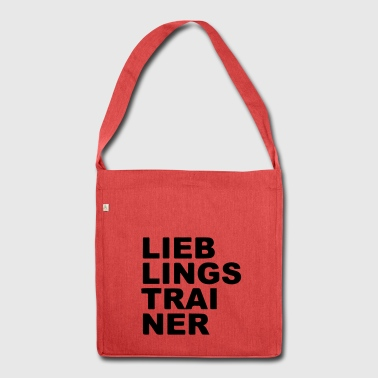 Lieblings Trainer - Schultertasche aus Recycling-Material