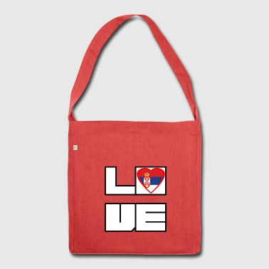 Love Land Roots Serbia - Shoulder Bag made from recycled material