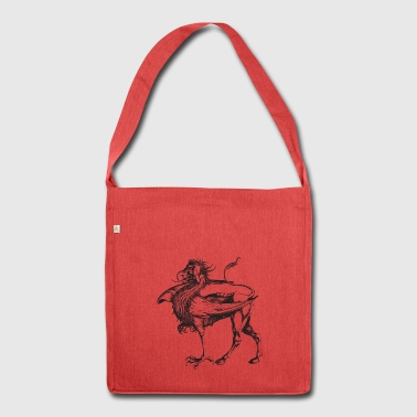 griffin - Schultertasche aus Recycling-Material