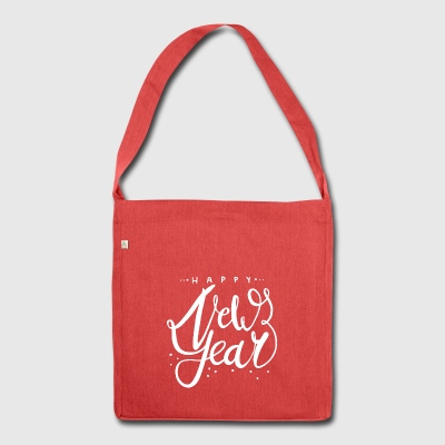 New Year's New Year Happy New Year Gift - Shoulder Bag made from recycled material