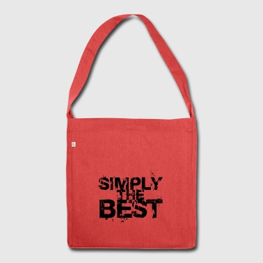 SimplyThe Best - Shoulder Bag made from recycled material
