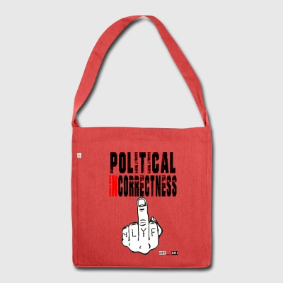 Lokey Games Official Political Incorrectness - Shoulder Bag made from recycled material