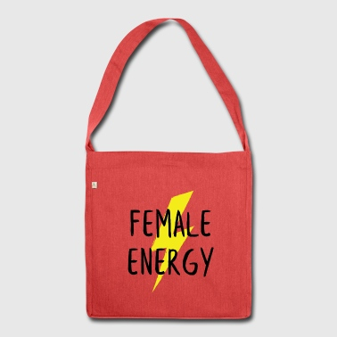 Female energy - Shoulder Bag made from recycled material