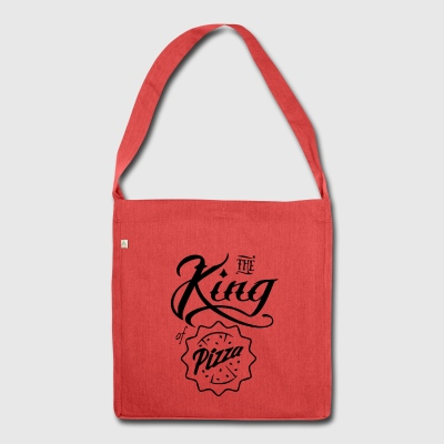 king Pizza - Schultertasche aus Recycling-Material