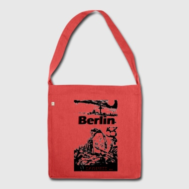Berlin sadness - Shoulder Bag made from recycled material