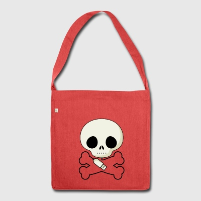 Skull USB - Borsa in materiale riciclato