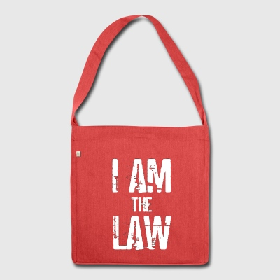 Tank top girl woman I AM THE LAW per avvocatessa - Borsa in materiale riciclato