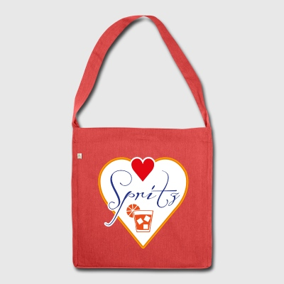 love spritz - Shoulder Bag made from recycled material