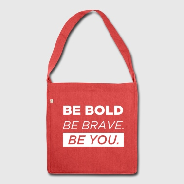 Be You - Schultertasche aus Recycling-Material
