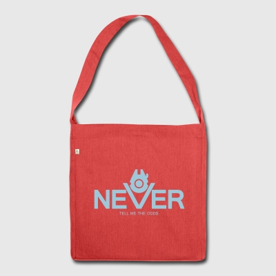 Never Tell Me The Odds - Schultertasche aus Recycling-Material