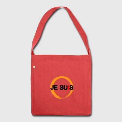 JE SUIS JESUS - Schultertasche aus Recycling-Material