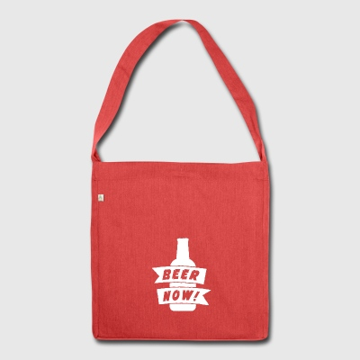Beer Now - Shoulder Bag made from recycled material