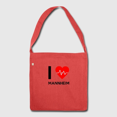 I Love Mannheim - I love Mannheim - Shoulder Bag made from recycled material