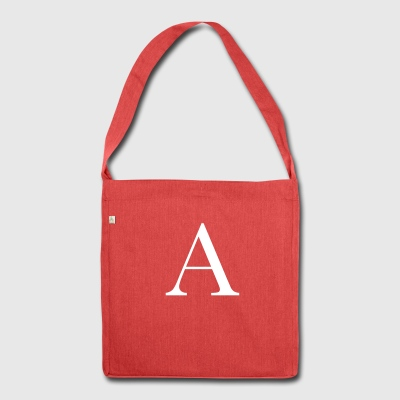 Letter a - Shoulder Bag made from recycled material