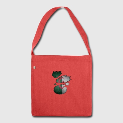 Roots Supland i love algeria algeria - Shoulder Bag made from recycled material