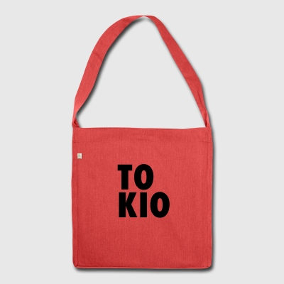 TOKIO - Borsa in materiale riciclato