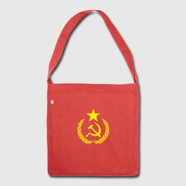 Communist Hammer Sickle - Shoulder Bag made from recycled material