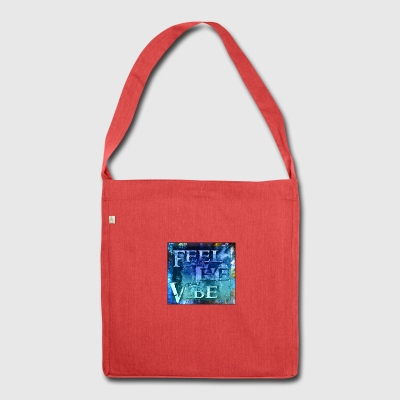 Feel the Vibe - Shoulder Bag made from recycled material